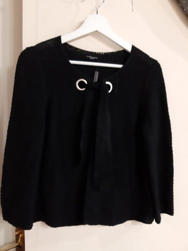 Javier simorra black chaqueta tricota