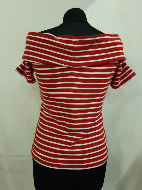 Javier Simorra Filan Striped Top