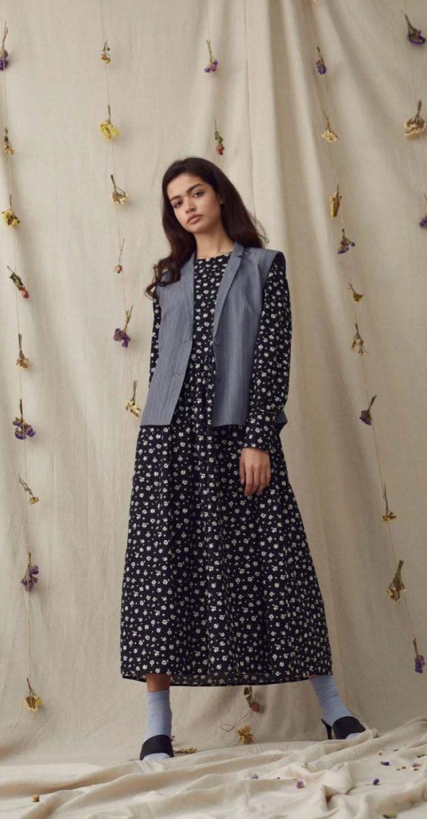 A-View Clothing Ocean Midi Dress