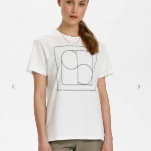 Soaked in Luxury SLEasy T-Shirt Broken White