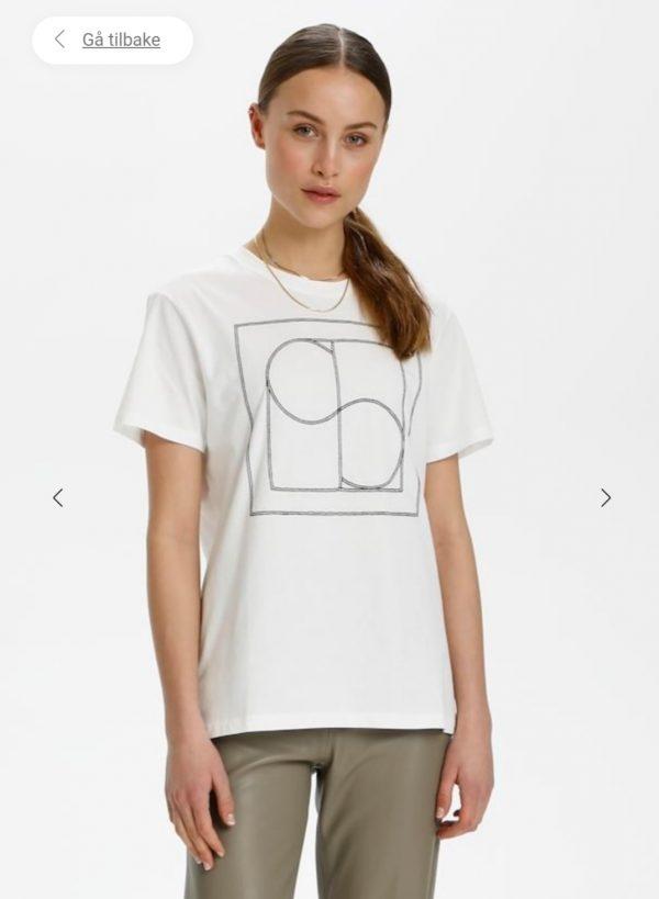 Soaked in Luxury SLEasy T-Shirt Broken White