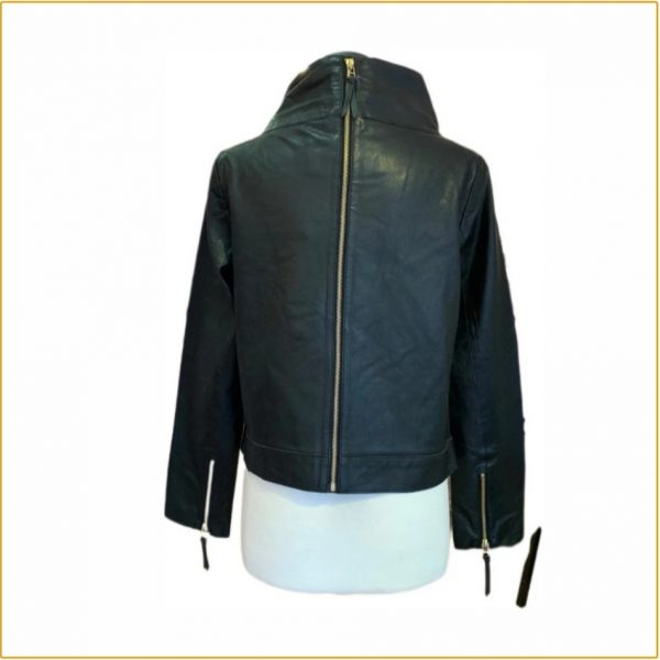 CIGNO NERO Leather Jacket Nice in Black