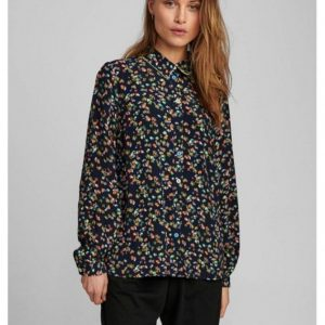 Numph Nudacey Shirt Dark Sapphire