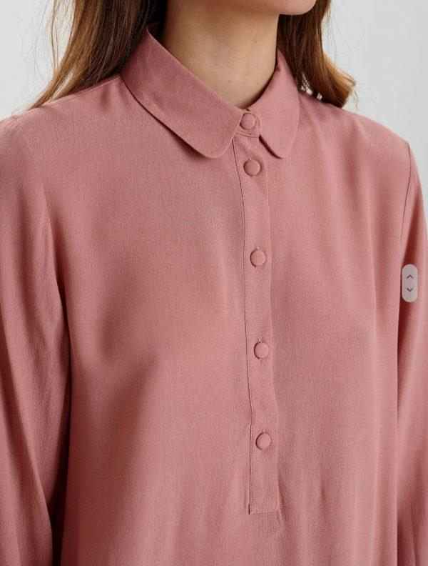 Numph Nudelsia Shirt in Ash Rose