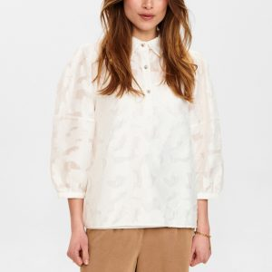 Numph Nucay Blouse in White