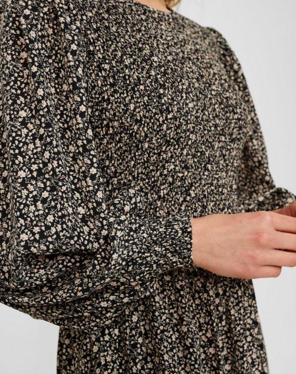 Numph Nucaltum Dress in Caviar