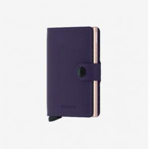 Secrid Miniwallet Matte Purple Rose