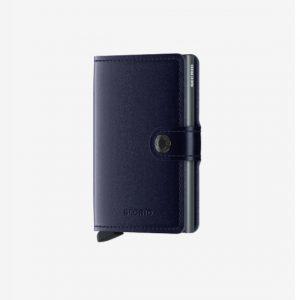 Secrid Miniwallet Metallic Blue