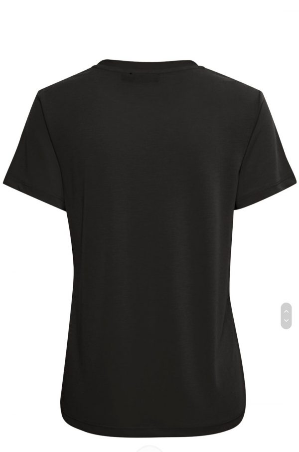 Soaked In Luxury SLColumbine Crew T-Shirt Black