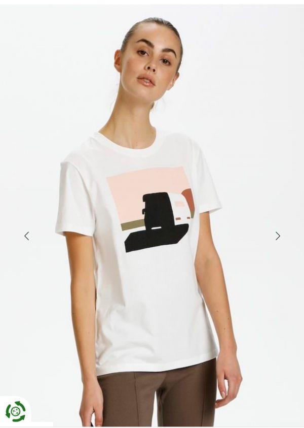 Soaked In Luxury Joleen White T-Shirt