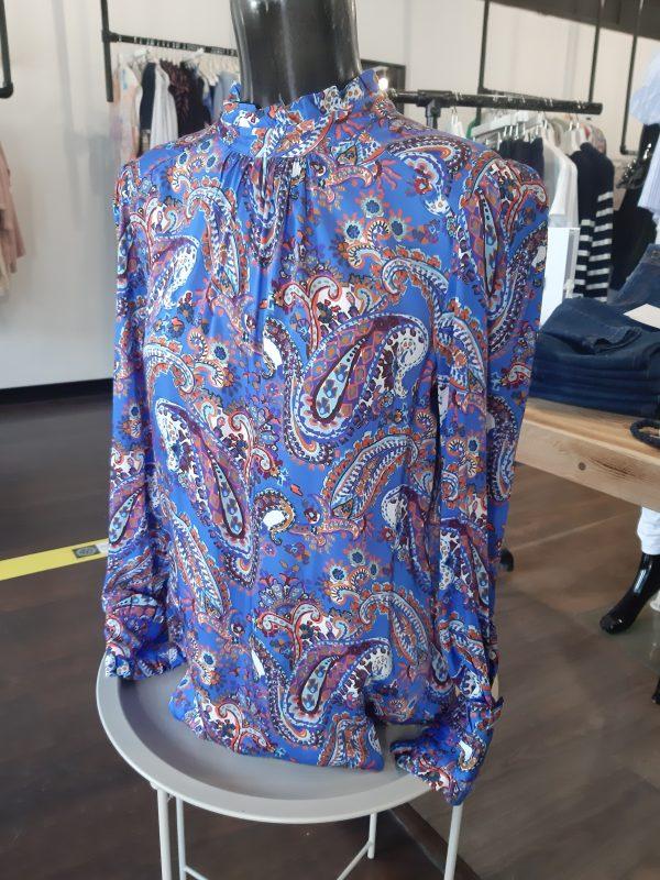 Tinta Style Rosalia Blue Blouse