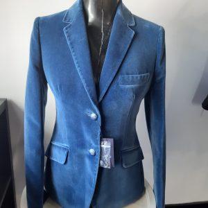 Bariloche Rimini Blue Velvet Blazer
