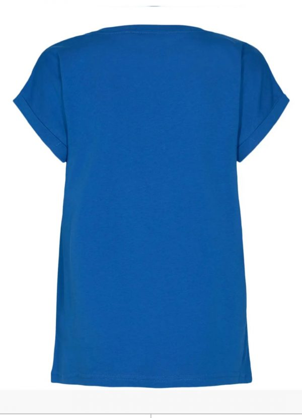 Numph Nubeverly T-Shirt in Princess Blue