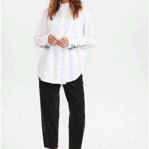 Numph Nubellis Shirt Bright White