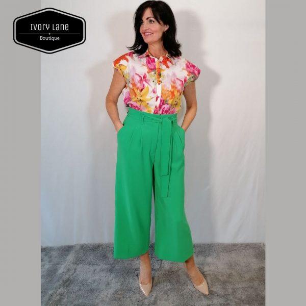 Access Fashion Cropped Wide leg Pants