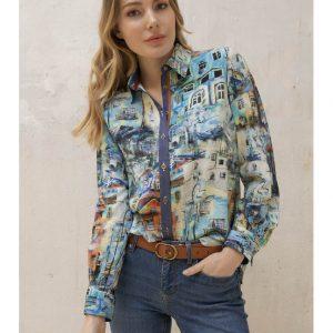 Tinta Style Julisa Blue Shirt