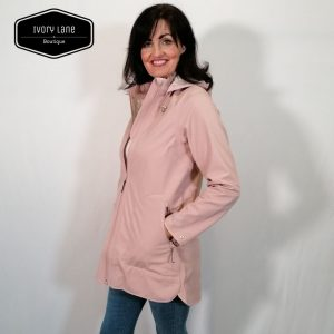 Ilse Jacobsen Raincoat 135B Adobe Rose