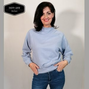 Soaked in Luxury SLBritta Sweatshirt Cashmere Blue