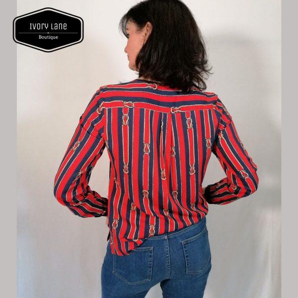 Bariloche Badia Shirt Red