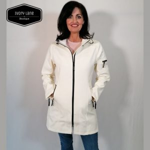 Ilse Jacobsen Raincoat Rain 7 White Sugar