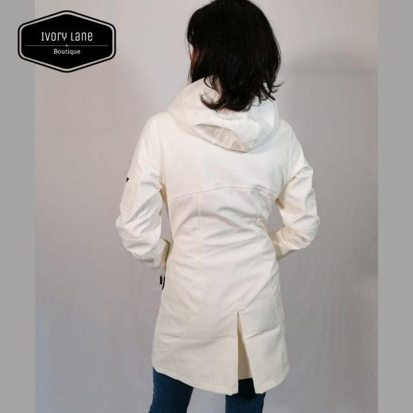 Ilse Jacobsen Raincoat Rain 7 White Sugar