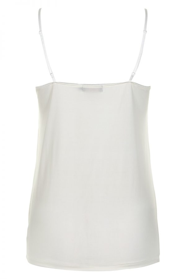 Soaked In Luxury Clara Singlet in White