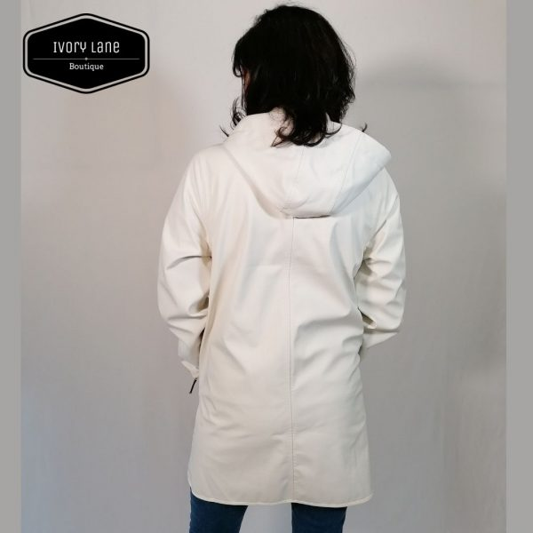Ilse Jacobsen Raincoat 135B White Sugar