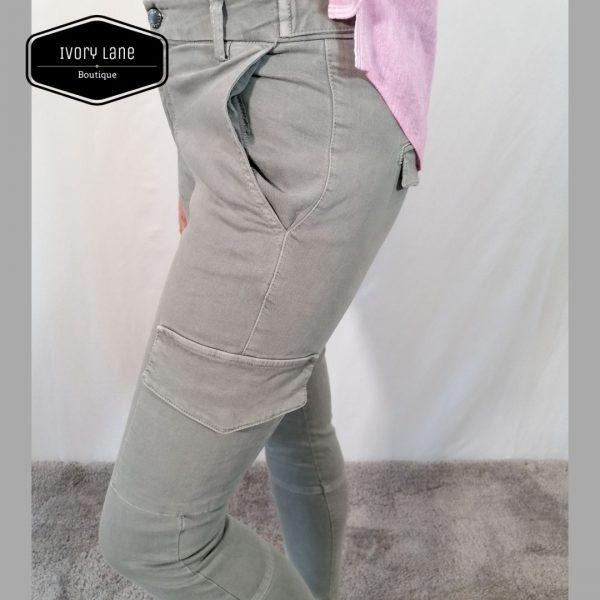 Pieszak Poline Cargo Jeans Grey