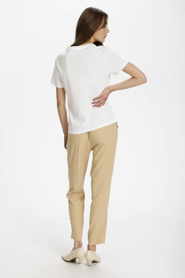 Soaked In Luxury Renee Tee Shirt Broken White