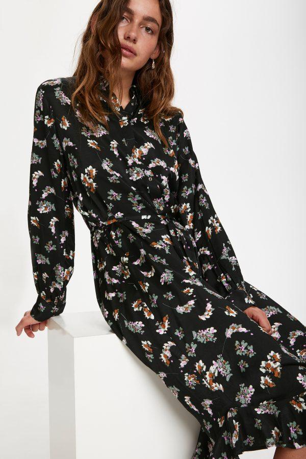 Soaked in Luxury Sesili Shirt Dress