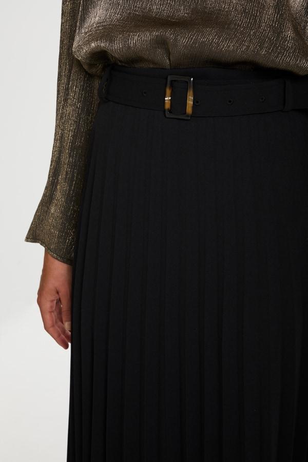 Soaked in Luxury Black Harvey Skirt