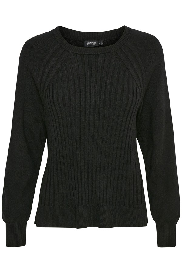 Soaked in Luxury Editha Pullover Black