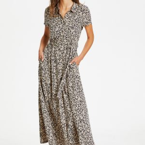 Soaked In Luxury Arjana Maxi Dress Buttercup Print