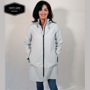 Ilse Jacobsen Raincoat 128 in Light Blue