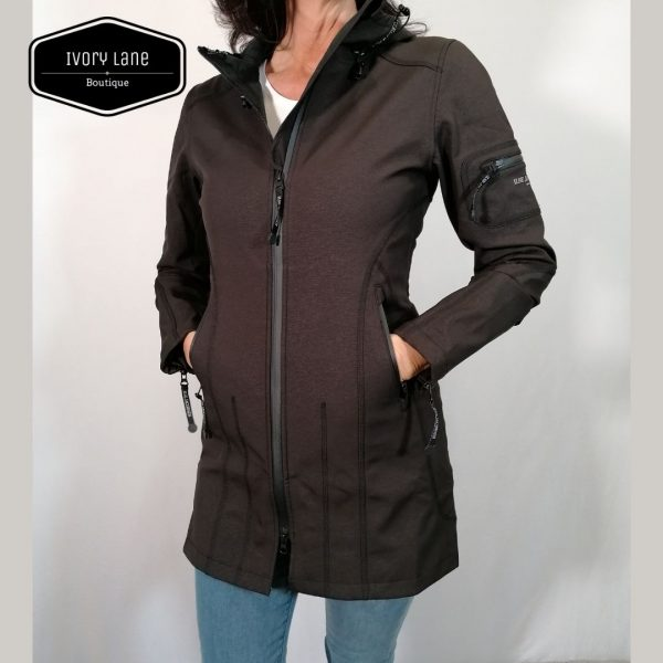 Ilse Jacobsen Raincoat Rain 7 Black
