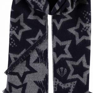 Fraas grey star scarf