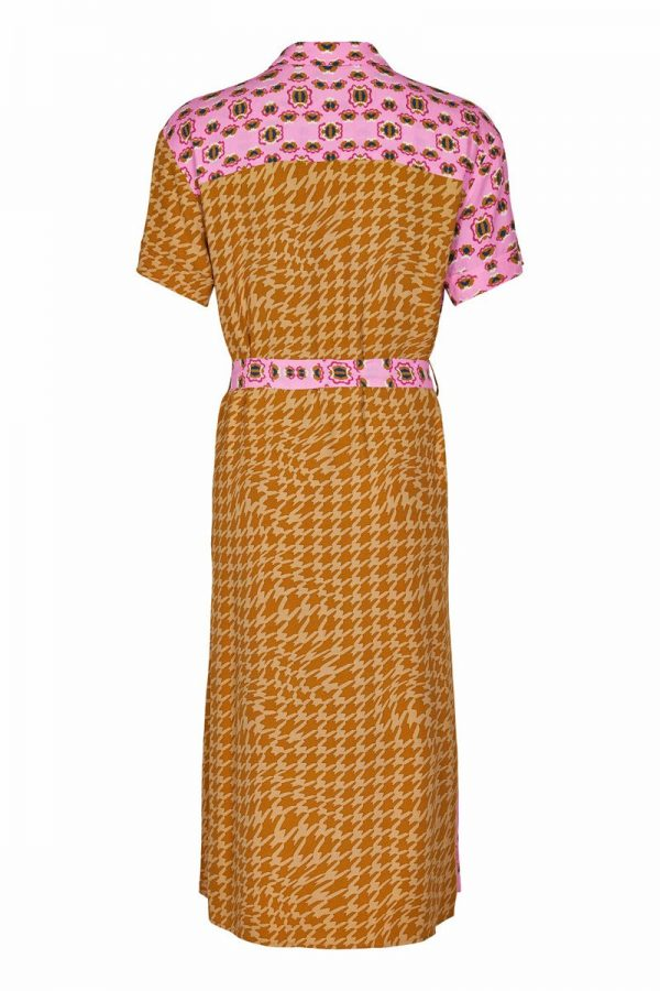 Numph Nuballou Dress Buck Brown