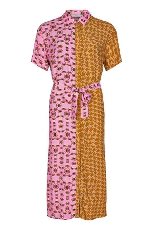 Numph Nuballou Dress Buck Brown