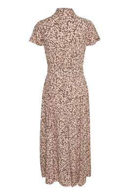 Soaked In Luxury Arjana Maxi Dress Preppy Peachy