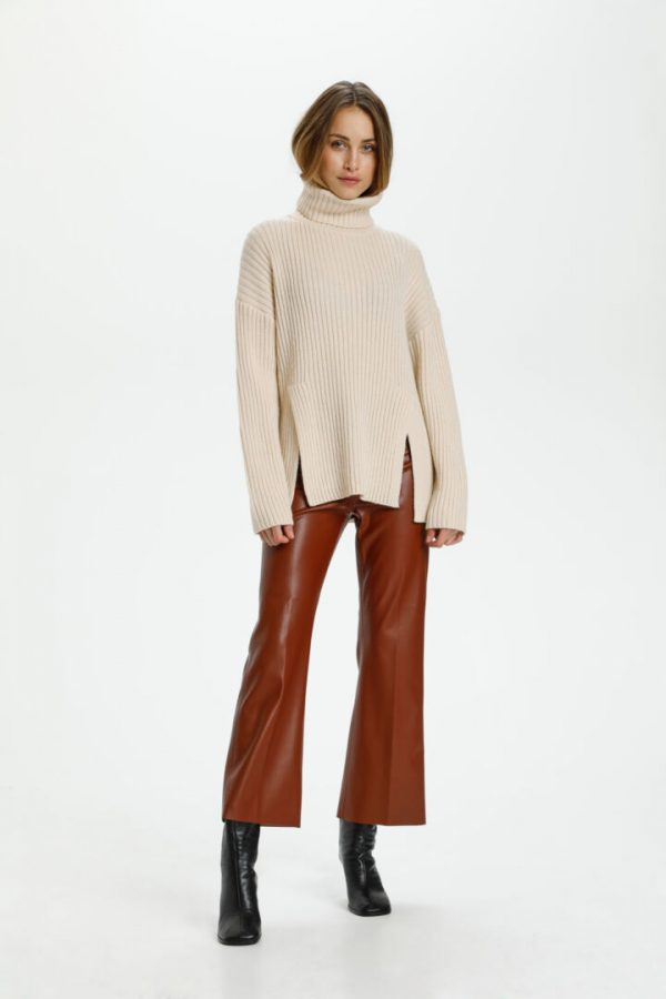 Soaked in Luxury Millicent Highneck Pullover