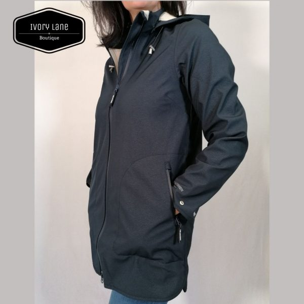Ilse Jacobsen Raincoat 135B Dark Indigo