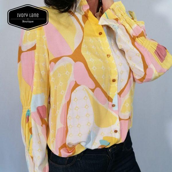 Numph Nucasey Shirt Snapdragon