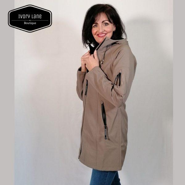 Ilse jacobsen Raincoat Rain 37 ash grey