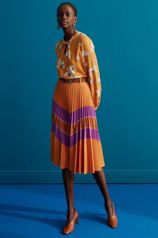 Perspective Kenji Etek Pleated Skirt