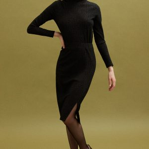 Perspective Mayra Triko Jumper Dress