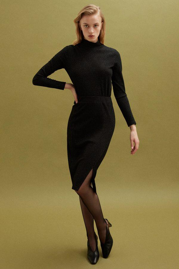 Perspective Mayra Triko Jumper Dress