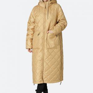 Ilse Jacobsen Aeriel 01 Light Brown Padded Coat