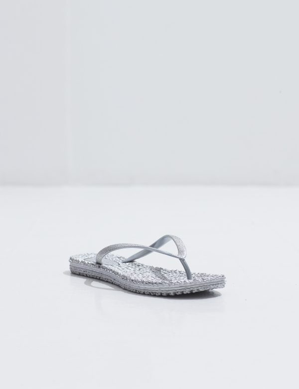 Ilse Jacobsen CHEERFUL FLIP FLOP SILVE