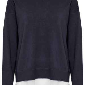 CREAM CLOTHING TAMMY PULLOVER ROYAL NAVY BLUE