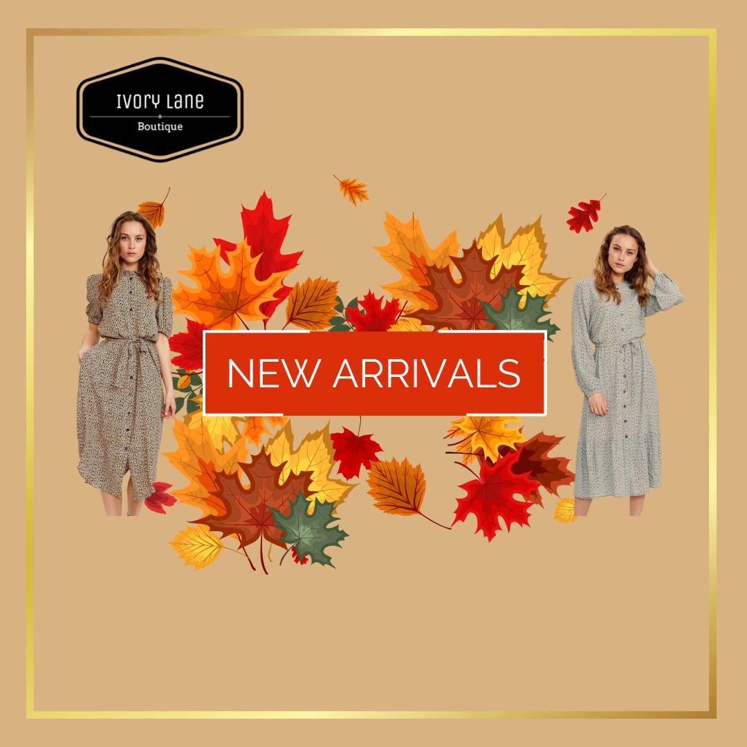 Copy Of Facebook Autumn New Arrivals